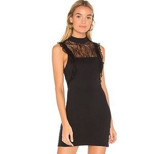 Free People Lace Trim Dress